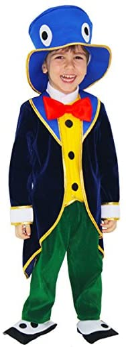 Costume de carnaval Manille de Pinocchio 1 - 2 anni: Amazon.es ...