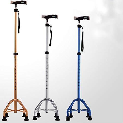 Walking Stick Home Gehbehinderte ältere Vierbeiner können Gehhilfe angehoben und abgesenkt Werden (Größe   Gold)