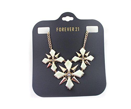 Europe and the United States gucci jewelry eggerated white Bouvardia short necklace pendant