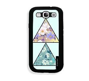 Galaxy S3 Case - Galaxy S III Case - Traingle Flower Pattern Samsung Galaxy i9300 Case Snap On Case