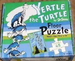 Yertle the Turtle (Floor Puzzle) (Dr Seuss Yertle The Turtle)