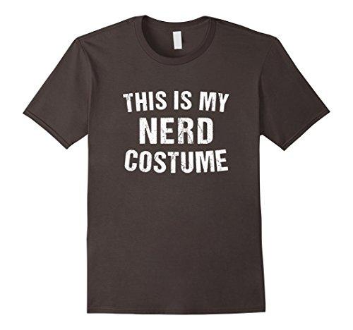 Mens Nerd Costume Geek Halloween T Shirt for Men Women Boy Girl XL - Costume Men Nerd