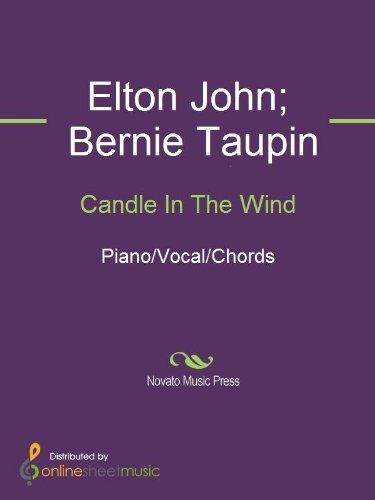 Candle In The Wind Kindle Edition By Bernie Taupin Elton John