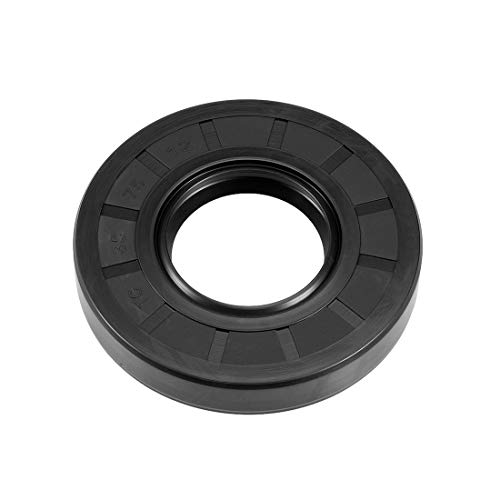 uxcell Oil Seal, TC 35mm x 75mm x 12mm, Nitrile Rubber Cover Double Lip ()