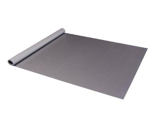 Diamond Deck 81512 5-Feet by 12-Feet Floor Mat, Metallic Graphite