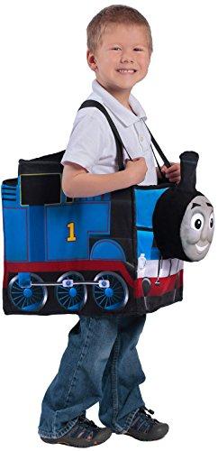 Princess Paradise Thomas the Tank Engine Ride-in Train Costume, Blue, Child