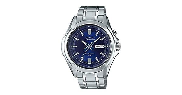 Amazon.com: Casio MTP-E205D-2AV - Reloj de pulsera para ...