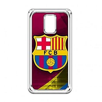 Fútbol Club Barcelona Funda Carcasa transparente Samsung S5 ...
