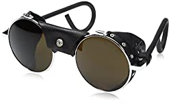 Vermont Classic Sunglasses: Chrome/Black with Spectron 4 Lenses
