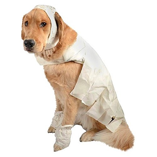 Mummy Dog Pet Halloween Costume Small by -