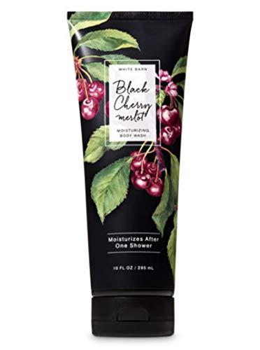 Bath and Body Works - Black Cherry Merlot 3 pc. Gift Set - Moisturizing Body Wash, Fine Fragrance Mist and Ultra Shea Body Cream