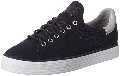 ESPRIT Damen Sita Lace up Sneakers, Blau (400 Navy), 38 EU