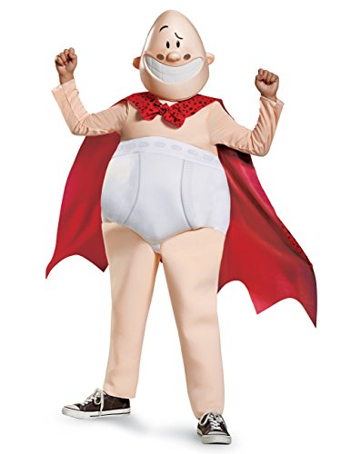 Captain Underpants Movie Deluxe Costume, Medium (7-8) -