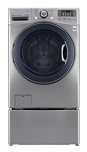 LG WD22VVS6 Lavasecadora Carga Frontal para 22 kg, color Pl