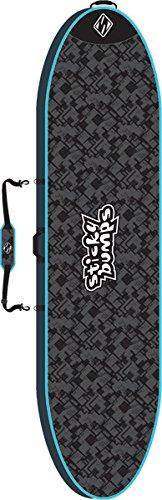 Sticky Bumps Single Day Black / Blue / Reflective SUP Boardbag - 9'0'' by Sticky Bumps