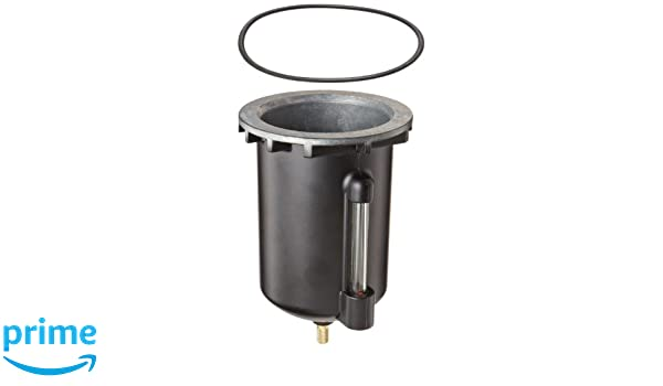 10F and 14E Series Filter//Regulator Parker PS451BP Metal Bowl with Automatic Pulse Drain for 14F 10 to 250 psig 1oz Capacity