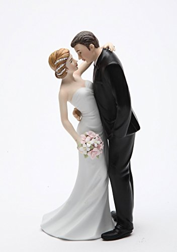 Cosmos Gifts 33266 Ceramic Wedding Couple Figurine, 7-Inch