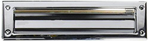 Chrome Mail Slot - Baldwin 0012260 Letter Box Plate, Bright Chrome