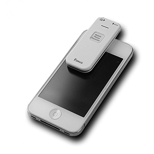 Voice Activated Mobile Phone Call Recorder 4GB - Smallest Smartphone Conversation Recording Device - Clear Audio - Rechargeable Personal Dictaphone - Best for iPhone/Android - Free Security eBook by Spy-MAX