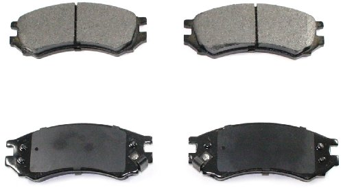 DuraGo BP507 C Front Ceramic Brake Pad ()