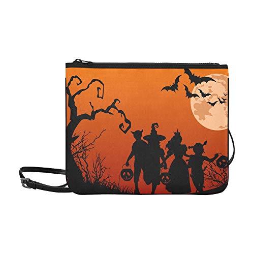 Painel Halloween G Frete Gratis Decoracao De Festa Pattern Custom High-grade Nylon Slim Clutch Bag Cross-body Bag Shoulder Bag -