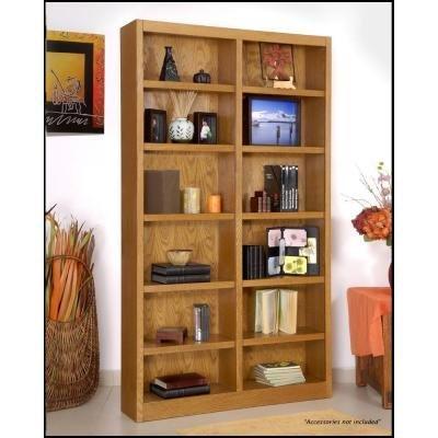 midas-double-wide-12-shelf-bookcase-in-dry-oak