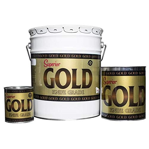 Superior Stone Products Superior Polyester Gold Knife Grade Adhesive 1 Quart
