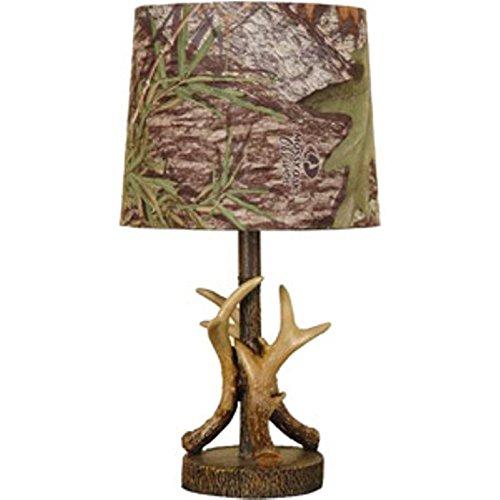 Mossy Oak Deer Antler Accent Lamp, Dark Woodtone (Lamp Log)