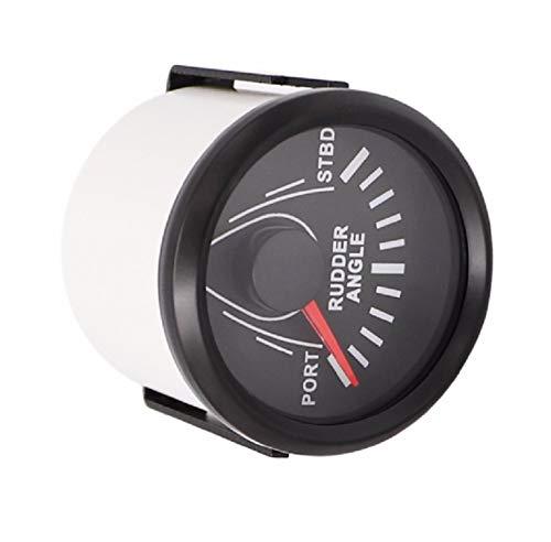 (ELING Waterproof Rudder Angle Indicator Gauge Meter 0-190ohm with Mating Sensor 2
