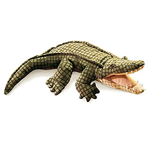 Folkmanis Alligator Hand Puppet - Alligator Puzzle