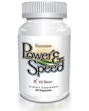 Power N Speed – 30 Capsules – Natural Energy Pills, Brain Boost, Focus and Memory Enhancement Herbal Vitamin Supplement for Men and Women