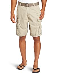 Lee Mens Big-Tall Big-Tall Dungarees Belted Wyoming Cargo Short