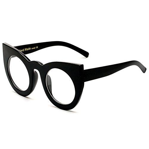 Oeil UV400 hibote de soleil C6 Glasses Femme Lunettes Rond chat Vintage Sun de dpfrwqpP