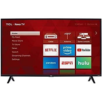 Amazon com: TCL 40S305 40-Inch 1080p Roku Smart LED TV (2017