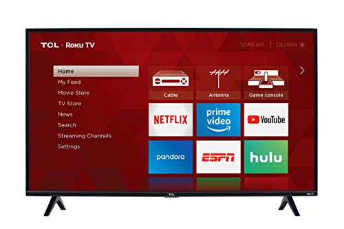 TCL 40S325 40 Inch 1080p Smart LED Roku TV (2019) (Renewed) (Best 40 Inch Led Tv 2019)