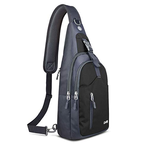 CARQI Sling Bag Waterproof Shoulder Backpack Crossbody Purse for Hiking Camping ()