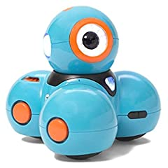 With Wonder Workshop Dash robot, kids ages 6 and up can create anything they can imagine. Dash is a real robot that responds to voice commands or any of our five free downloadable apps to sing, draw, and move around. It's more than learning t...
