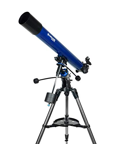 Meade Instruments – Polaris 80mm Aperture, Portable Backyard Refracting Astronomy Telescope for Beginners –Stable German Equatorial (GEM) Manual Mount – Accessories Included – Fun Outdoor Activities
