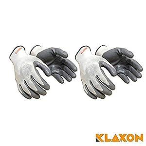 Klaxon Nylon Safety Hand Gloves | Anti Cut | ...