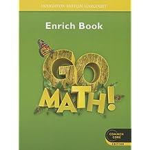 Go Math!: Student Enrichment Workbook Grade 1