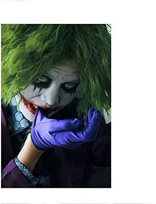 Joker Green Clown Wig Accesorio de Disfraz de Halloween for ...