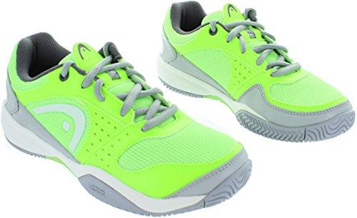 Head Sprint Evo Junior Nggr, Zapatillas de Tenis Unisex Bebé Verde / Gris / Blanco