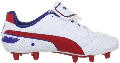 Puma Esito definitiva i fg jr 102014 Unisex zapatos de los deportes fútbol infantil Blanco (Weiss (White-Ribbon Red-Limoges 07))