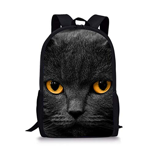 Cat Backpack Cute 3D Animal Denim Backpacks for Children Boys Girls Casual Kids School Bag Travel Backpack,Q 4043 (Mossimo Kids Jeans)