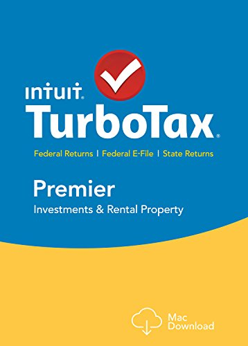 TurboTax Premier 2015 Federal + State Taxes + Fed Efile Tax Preparation Software - Mac Download [Old Version] by Intuit