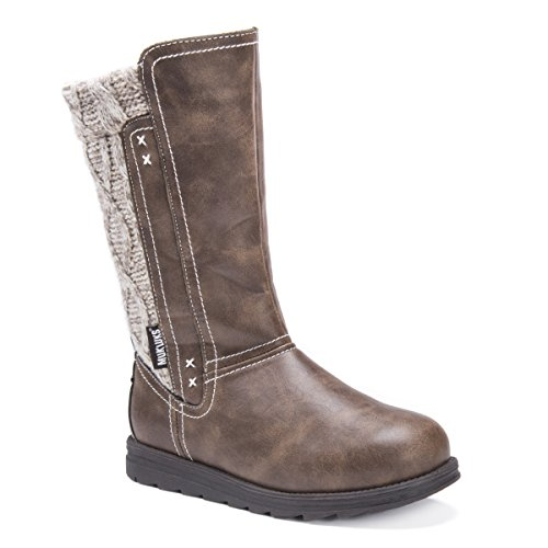 - MUK LUKS Women's Stacy Boots-Brown Fashion, Moccasin, 8