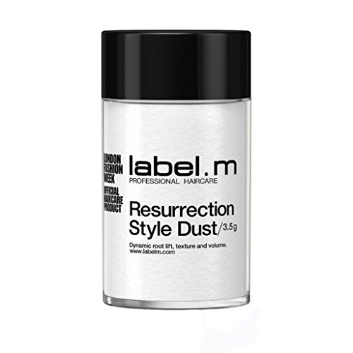 - Label.M Resurrection Style Dust (3.5g) Volumizing & Thickening Powder Adds Lift & Fullness. Extreme Root Lifting. Thin & Fine Hair Types