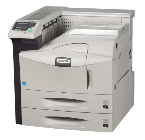 Kyocera 1102G12US0 Model FS-9530DN Black and White Laser Printer; Up to 51 PPM; Standard Duplex; 1,200 Sheet Paper Capacity; Wired Connectivity Technology, Parallel, USB, Ethernet 10/100Base-TX Interface; 1800 dpi x 600 dpi Max Resolution, Standard PostScript Support, 3.5 Sec First Print Out Time