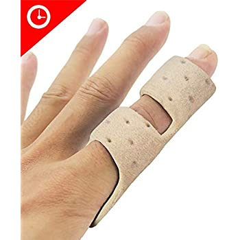 Amazon.com: Finger Splint Brace Plus - Sujetador de dedo ...