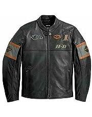 HDMM Vintage klassieke motorfiets casual mode dragen echt lederen jas